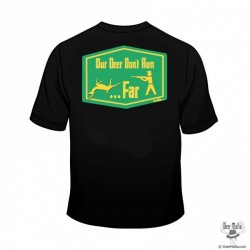 Deer Mafia Deer Don't Run Far Short Sleeve T
